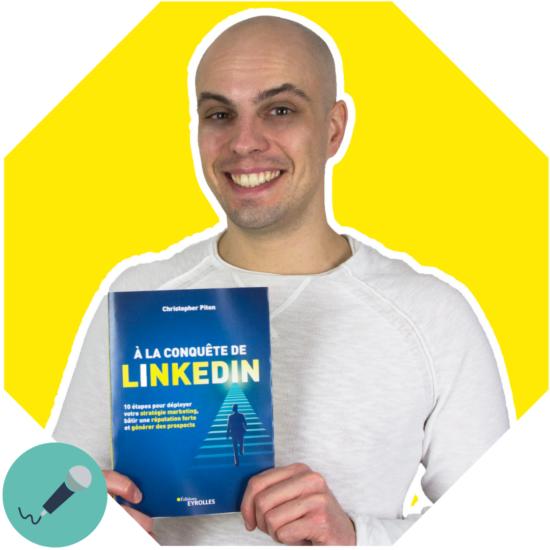 Interview Ping-Pong creatif avec Christopher Piton - Expert LinkedIn - Creativite Agile