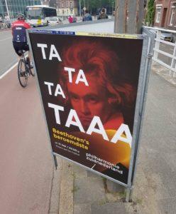 Affiche Beethoven chamboulement des sens